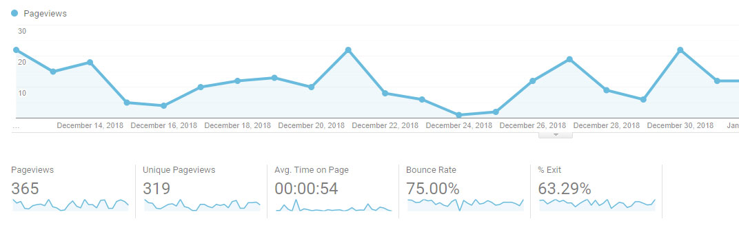 google analytics data report