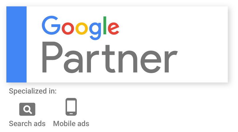 Certified Google Partner badge