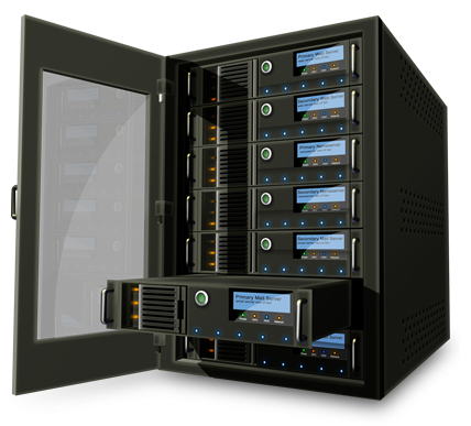 managed hosting on state of the art servers